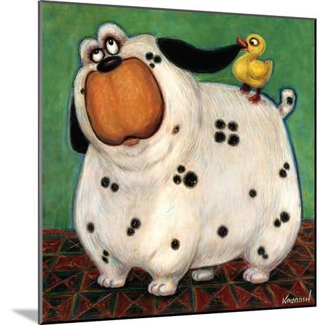 There's a Duck in My Ear-Kourosh-Mounted Art Print