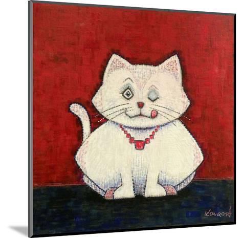 White Cat-Kourosh-Mounted Art Print