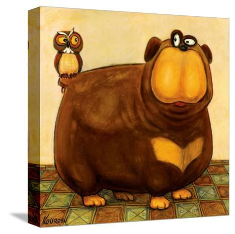 Here's Looking at You-Kourosh-Stretched Canvas Print