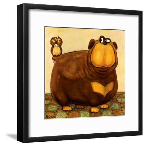 Here's Looking at You-Kourosh-Framed Art Print