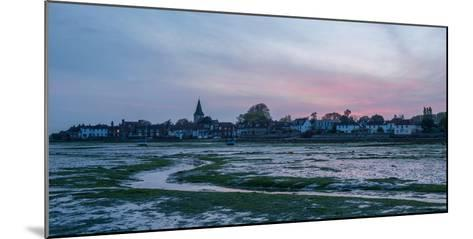 A View of Bosham in West Sussex-Chris Button-Mounted Photographic Print