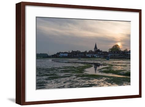 A View of Bosham in West Sussex-Chris Button-Framed Art Print