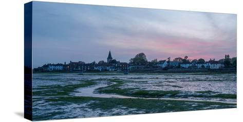 A View of Bosham in West Sussex-Chris Button-Stretched Canvas Print