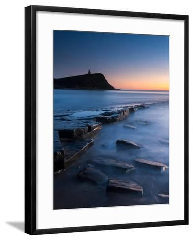 A View of the Ledge at Kimmeridge-Chris Button-Framed Art Print