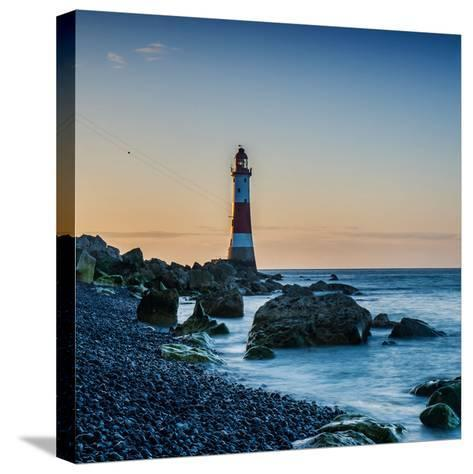 Beachy Head Lighthouse, East Sussex-Green Planet Photography-Stretched Canvas Print