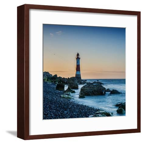 Beachy Head Lighthouse, East Sussex-Green Planet Photography-Framed Art Print