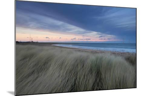 A Wind Farm Off the Coast of Teesside at South Gare, Redcar, Middlesborough, UK- Richard Childs Photography-Mounted Photographic Print