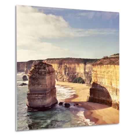 Australia, Victoria, Great Ocean Road, Port Campbell National Park, the Twelve Apostles- Staskulesh-Metal Print