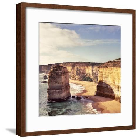 Australia, Victoria, Great Ocean Road, Port Campbell National Park, the Twelve Apostles- Staskulesh-Framed Art Print