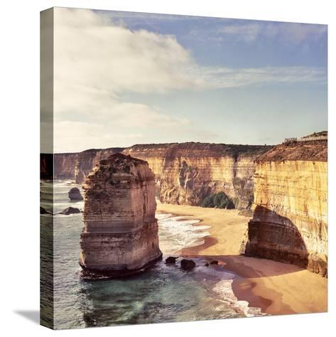 Australia, Victoria, Great Ocean Road, Port Campbell National Park, the Twelve Apostles- Staskulesh-Stretched Canvas Print
