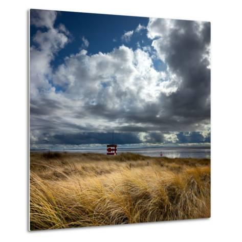 Alt Estuary on the Sefton Coast-Dave Mcaleavy Images-Metal Print