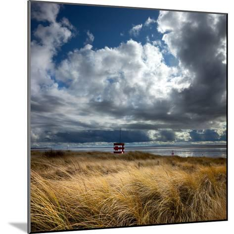Alt Estuary on the Sefton Coast-Dave Mcaleavy Images-Mounted Photographic Print