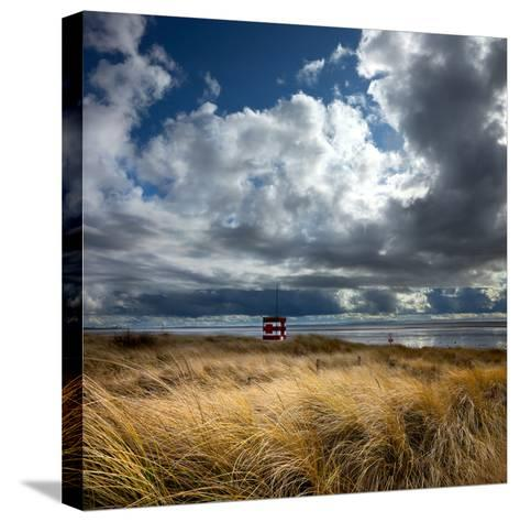 Alt Estuary on the Sefton Coast-Dave Mcaleavy Images-Stretched Canvas Print