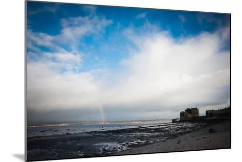 Blackness Castle with Blue Sky and Small Rainbow- Bridge Community Project-Mounted Photographic Print