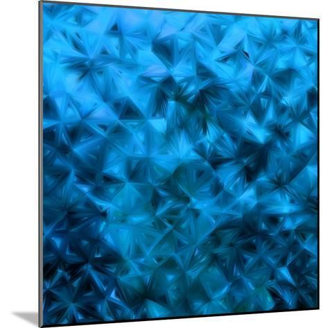 Blue Glitter-Petrov Vladimir-Mounted Photographic Print