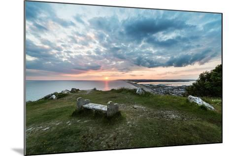 Chesil Beach and the Jurassic Coast Dorset-Oliver Taylor-Mounted Photographic Print