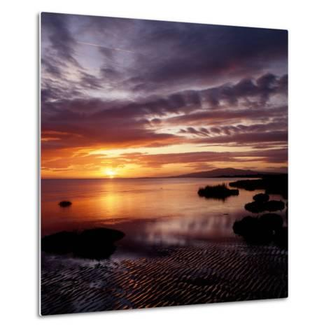 A Scenic Atmospheric Landscape Sunset- South West Images Scotland-Metal Print