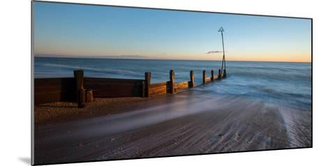 A View of a Groyne at Hayling Island-Chris Button-Mounted Photographic Print