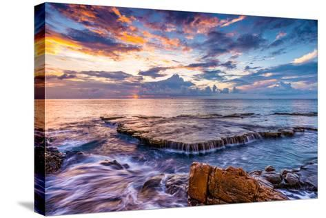 09 Oct 2016 - Hang Rai, Vinh Hy, Ninh Thuan-Dong Bui-Stretched Canvas Print