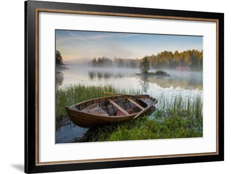 A Beautiful Morning at the Lake-Robin Eriksson-Framed Art Print
