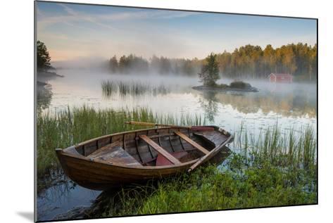 A Beautiful Morning at the Lake-Robin Eriksson-Mounted Photographic Print
