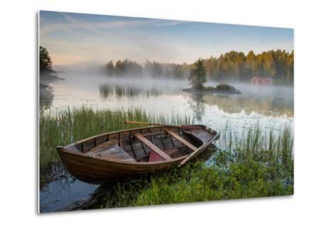 A Beautiful Morning at the Lake-Robin Eriksson-Metal Print