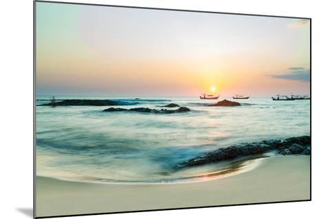 Beautiful Sunset in Khao Lak Thailand-Remy Musser-Mounted Photographic Print