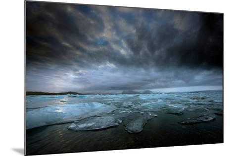 Jökulsárlón Lagoon and Ice-Ann Clark Landscapes-Mounted Photographic Print