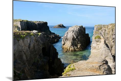 Rocky Coastline of Quiberon in France-Christian Musat-Mounted Photographic Print
