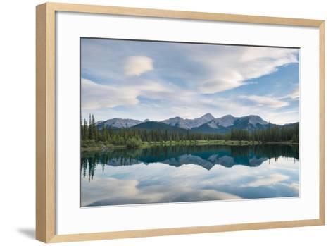 Rocky Reflection-Brent Beach-Framed Art Print