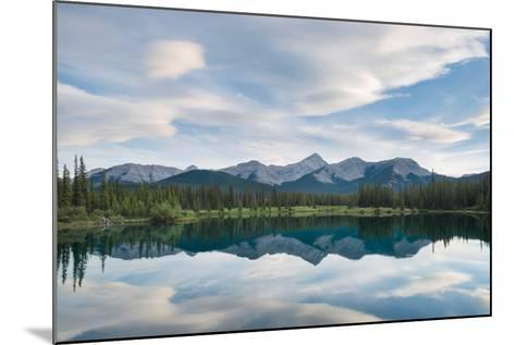 Rocky Reflection-Brent Beach-Mounted Photographic Print