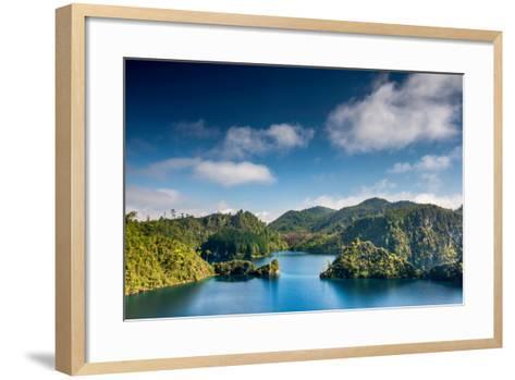 Laguna La Canada at Lagunas De Montebello National Park, Chiapas, Mexico-Witold Skrypczak-Framed Art Print