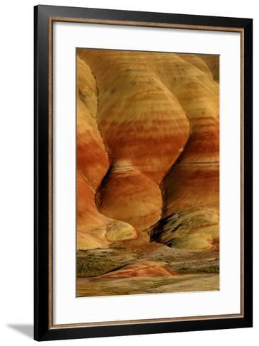 Painted Hills, John Day Fossil Beds National Monument, Oregon, USA- Marilyn Dunstan Photography-Framed Art Print