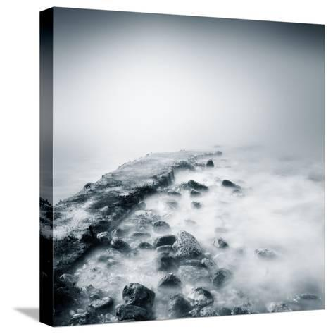 Misty Jetty- Icollection-Stretched Canvas Print
