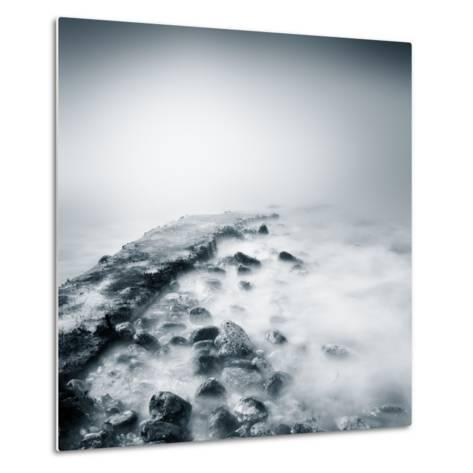 Misty Jetty- Icollection-Metal Print