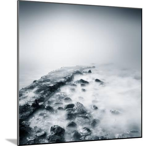 Misty Jetty- Icollection-Mounted Photographic Print