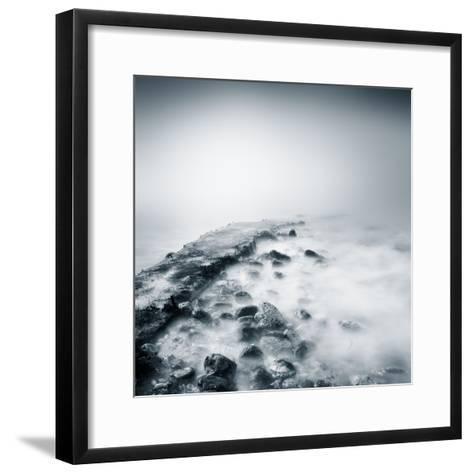 Misty Jetty- Icollection-Framed Art Print