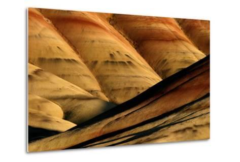 Painted Hills, John Day Fossil Beds National Monument, Oregon, USA- Marilyn Dunstan Photography-Metal Print