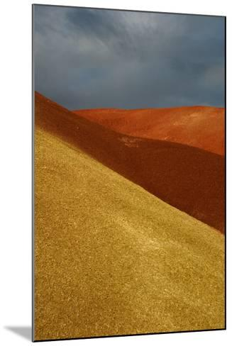 Painted Hills John Day Fossil Beds National Monument Oregon Usa- Marilyn Dunstan Photography-Mounted Photographic Print