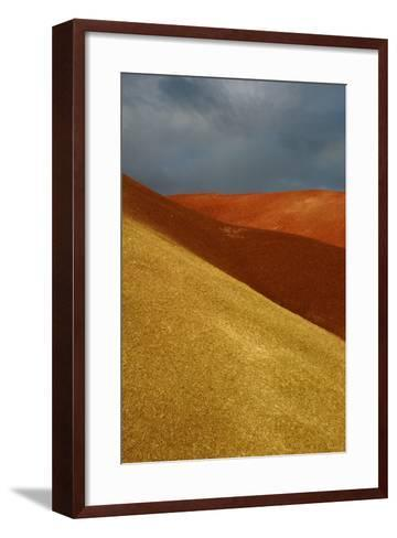 Painted Hills John Day Fossil Beds National Monument Oregon Usa- Marilyn Dunstan Photography-Framed Art Print