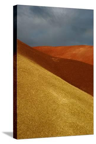 Painted Hills John Day Fossil Beds National Monument Oregon Usa- Marilyn Dunstan Photography-Stretched Canvas Print