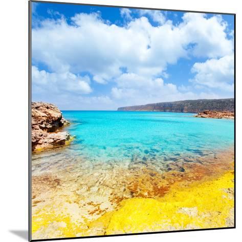 Es Calo De San Agusti in Formentera Balearic Islands-Natureworld-Mounted Photographic Print