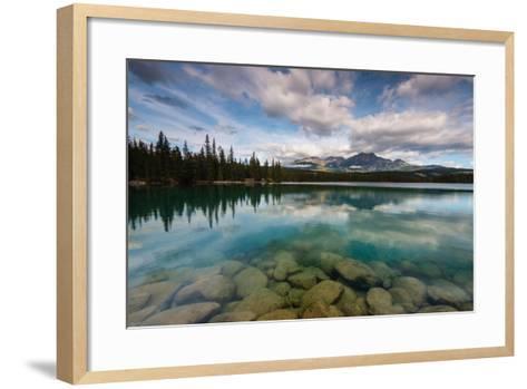 Lac Beauvert, Lac Beaufort, Canadian Rocky Mountains-Sonja Jordan-Framed Art Print