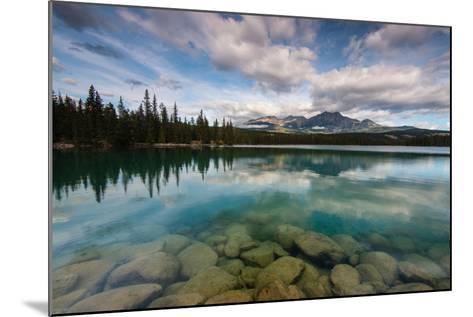 Lac Beauvert, Lac Beaufort, Canadian Rocky Mountains-Sonja Jordan-Mounted Photographic Print