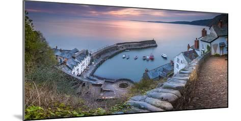 Clovelly Harbour-Terry Mathews-Mounted Photographic Print
