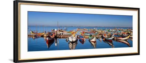 Panorama of Aveiro (Portugal)-Susana Guzman-Framed Art Print
