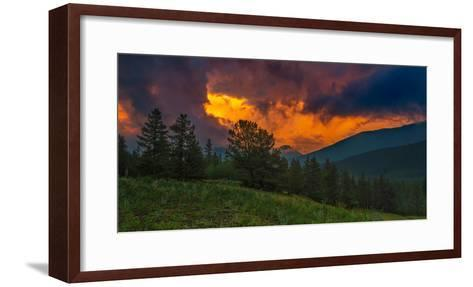 Fire in Sky-Rui Xu-Framed Art Print