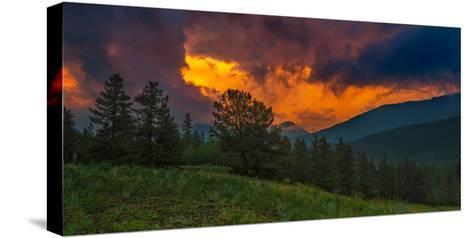 Fire in Sky-Rui Xu-Stretched Canvas Print