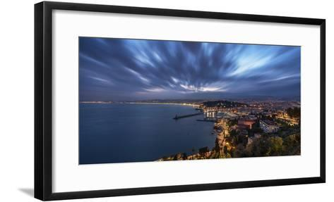 City of Nice-Emmanuel Charlat-Framed Art Print