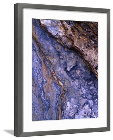 Layered Shale at Staffin, Isle of Skye- Richard Childs Photography-Framed Art Print